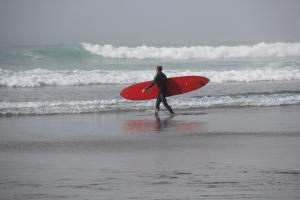 Surfer, Morro Bay, CA. (Hadi Dadashian photo)