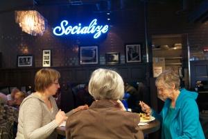 Scotty Brown's eatery, Bellingham International Airport, WA. (Hadi Dadashian photo)