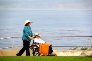 Wheeling the waterfront, La Jolla, CA. (Hadi Dadashian photo)