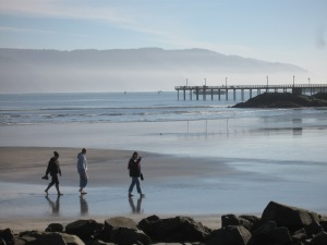 California beach in winter. (Kathleen Kenna photo)