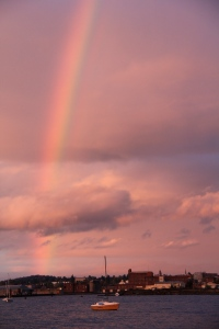 Rainbow, Bellingham, WA. (Kathleen Kenna photo)
