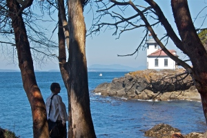 Lime Kiln Lighthouse, San Juan Island, WA. (Hadi Dadashian photo)