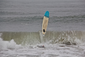 Washington surfer, Half Moon Bay. (Hadi Dadashian photo)