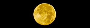 Full moon, August 20, 2013. (Hadi Dadashian photo)